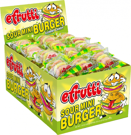 e-Frutti Sour Mini Burger
