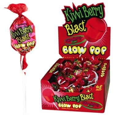 Charms Kiwi Berry Blast Blow Pop