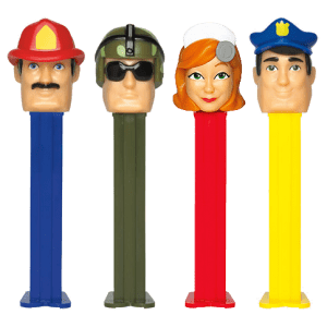 Pez Blister Heroes 6ct