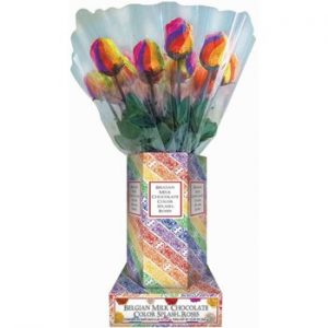 Albert \color Splash Rainbow Rose 20ct