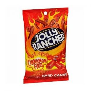 Jolly Rancher Cinnamon Fire Hard Candy 7 ounce (Pack of 12)
