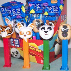 Pez kung Fu panda 12ct