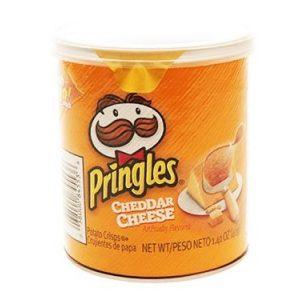 Pringles cheddar Cheeses 12ct