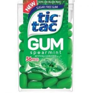 Tic Tac Gum Spearmint 12ct