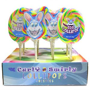 Easter Curly Swirly Lollipop