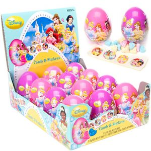 Frankford-Princess-Single-Plastic-Egg-with-Candy-and-Stickers