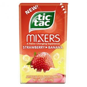 Tic Tac Mixers Strawberry Banana .95oz