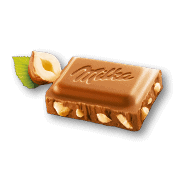 Kraft Milka Hazelnut Chocolate Bar 100g