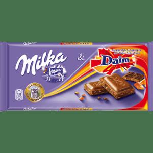 Milka Chocolate Daim 100g