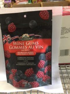 Waterbridge Red & Black Berries Wine Gums