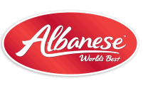 Albanese Confectionary Logo