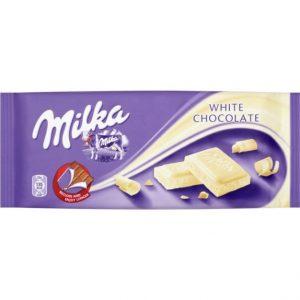 Milka White Chocolate 100g