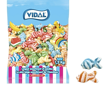 Vidal swirly fish 1.2KG