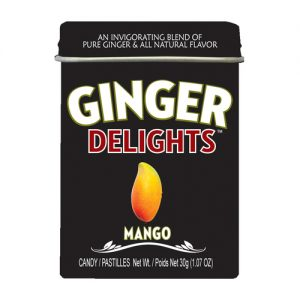 Ginger Delights Mango candy 12ct