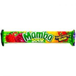 Mamba Sour Candy Stick 18ct
