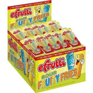 E-FRUTTIE SOUR FRUITY FRIES 48CT