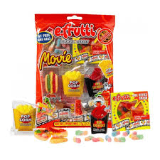 E-Fruttie Gummies Movie Bag 12ct
