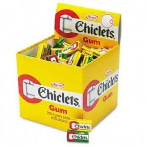 Chiclets Menta 100ct