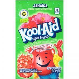 Kool-Aid Unsweetened 2QT Jamaica Drink Mi