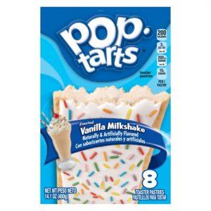 Pop Tarts G.P. (8 Piece) Vanilla Milkshake