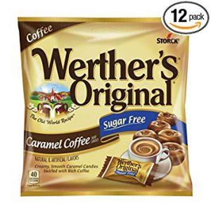 Werther Carmel Coffee Sugar Free 2.75oz