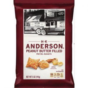 HK anderson penaut butter filled pretzel 12ct