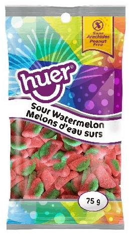 Huer Peg Bag Sour Watermelon 75g