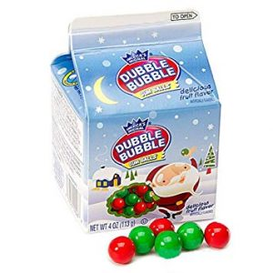 Xmas Dubblebubble Gumball Carton 4oz