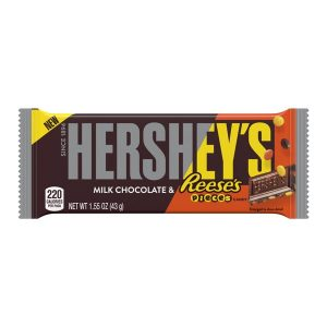 Hershey M. Chocolate Bar with Reese's Pieces 1.55o