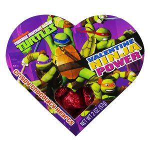 FRANKFORD VALENTINES DAY TMNT HEART BOX 24ct