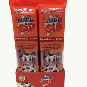 Milky Sip Display Strawberry
