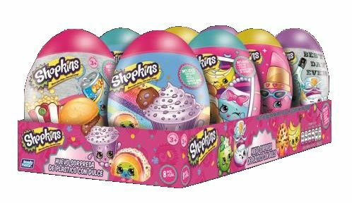 Mexican Bondy Huevo Sorpresa Shopkins 8CT
