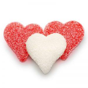Valentine sour gummy heart 5lb