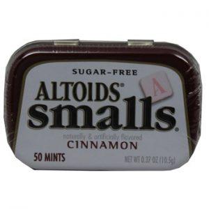 Altoids Cinnamon Sugar free