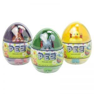 Easter Pez Egg w Mini dispenser .58oz 12ct