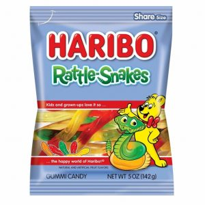 Haribo Rattle Snakes 12ct