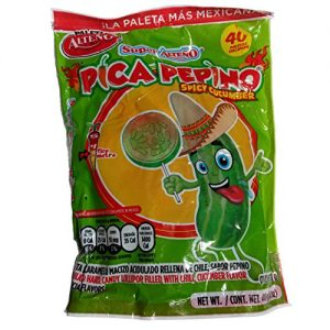 Mx pica pepino Lollipop 40ct
