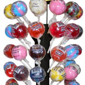 Original Gourmet Lollipop 120 ct Magnetic Display