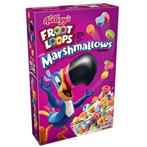 kellogs froot loops with marshmallow 16ct