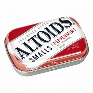 Altoids Small Sugar free peppermint 9ct