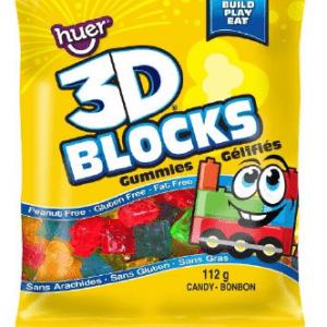 HUER 3D BLOCKS GUMMY 12CT