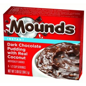 Mounds Instant Pudding 12ct