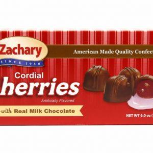 ZACHARY Milk Chocolate Cordial Cherries 24ct