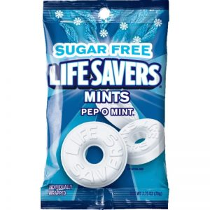 Life Saver sugar free Pep O Mints 12ct