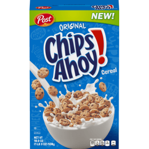 Post Chips Ahoy Cereal14ct